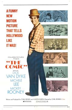 The Comic 1969 - Carl Reiner directed this surprisingly good Dick Van Dyke movie. I will get disagreement with this , but on my list of really good movies. Really Good Movies, Great Movies, Cult Movies, Comic Movies, Michele Lee, Carl Reiner, Image Internet, Best Movie Posters, Funny New