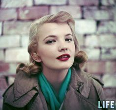 American actress Gena Rowlands. #vintage #actresses #hair