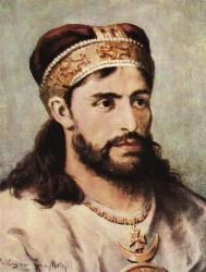 Casimir II (1138 - 1194). High Duke of Poland from 1177 until 1191, and 1191 until 1194. He married twice and had seven children.