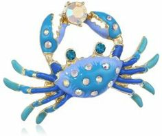 """Jewels of the Sea"" Crab Stretch Ring #unusualengagementrings"