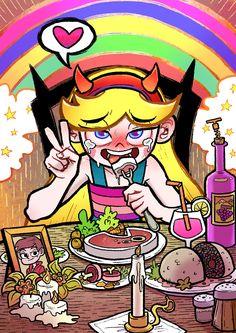 Rules do not appy V Force, Force Of Evil, Jinx Teen Titans, Princess Star, Princess Zelda, Character Art, Character Design, Starco Comic, Ahegao