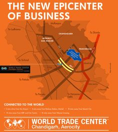 "World Trade Center Chandigarh is a place that can undoubtedly give wings of economic growth to your business. The name ""World Trade Center"" is a brand in itself and a worldwide chain of office spaces in over 330 cities serving nearly 1 million members."