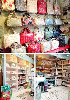 Kath kidston London bags Covent Garden, Seven dials … Cath Kidston London, Cath Kidston Bags, London Bags, Craft Stalls, Craft Show Displays, Craft Markets, Sewing Rooms, Girls Shopping, Craft Fairs