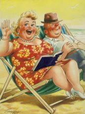 saucy seaside postcards - Google Search