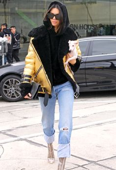 Kendall Jenner's Chic Street Style - January 2, 2017 from InStyle.com