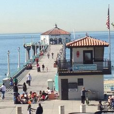 Manhattan Beach Pier, Manhattan Beach, California