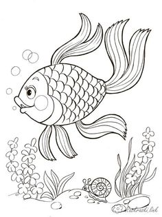 Картинки по запросу тропические рыбки раскраски Pretty Drawings, Art Drawings For Kids, Pencil Art Drawings, Easy Drawings, Fish Drawing For Kids, Fish Coloring Page, Coloring Pages To Print, Free Coloring Pages, Coloring Books