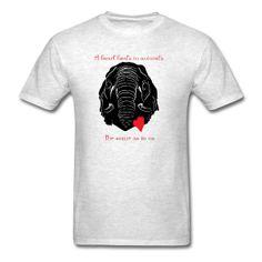 Mens Animal Welfare Elephant Shirt - Men's T-Shirt Elephant Shirt, Cloth Bags, Apparel Design, Kids Outfits, Shirt Designs, Running, Animal Welfare, Mens Tops, Animal Rights