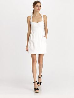 Nanette Lepore Honeymoon dress, so cute! Available at Sax Fifth ave