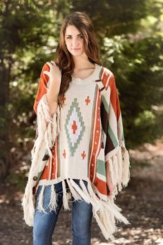 Image result for fall poncho