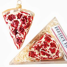 Christmas Ornaments for Pizza Lovers
