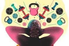 A Workout for Your Mental Health - WSJ Mental Help, Mental And Emotional Health, Amy Day, Mental Therapy, Aviation Technology, Journal Writing Prompts, Clinical Psychologist, Mental Strength, Workout Regimen