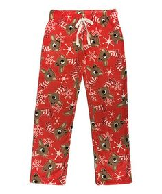 Love this Red Snowflake Reindeer Lounge Pants on Winter Theme, Lounge Pants, Reindeer, Snowflakes, Christmas Clothing, Pajama Pants, Pajamas, Comfy, Red