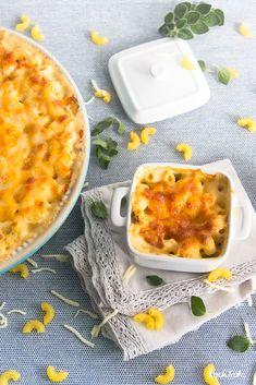 Macaroni and Cheese   glutenfrei   laktosefrei   überbackene Hörnchen mit Käsesauce