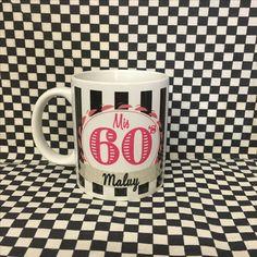 Tazas sublimadas para tus fiestas #60s