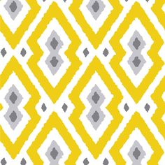 Jonathan Adler Wallpaper Syrie Yellow & Gray #laylagrayce