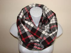 Items similar to sale red black plaid infinity scarf, Flannel Infinity Scarf, Nomand Cowl Woman Man Unisex Fall Winter Fashion on Etsy Plaid Flannel, Plaid Scarf, Plaid Infinity Scarf, Autumn Winter Fashion, Fall Winter, Red And Black Plaid, Womens Scarves, Cute Outfits, Trending Outfits