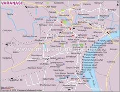 City Map Of Coimbatore City Maps Of India Pinterest - Varanasi map