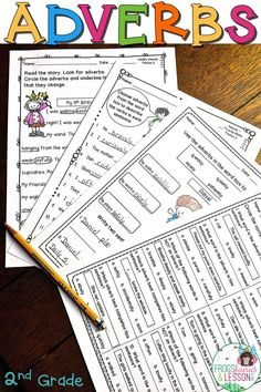 This product consists of practice worksheets that target the Common Core standards for Adjectives and Adverbs in 2nd Grade, and 4 Games for your Literacy Center. Activities include: cut and paste, fill in the blanks, multiple choice, color, write sentences, and circle/underline target words. Check out the preview today for pictures and a complete description!