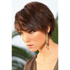 7 Short Hair Cuts You Could Try ...   pixie tomboy kiểu tóc vượt thời… ❤ liked on Polyvore featuring hair
