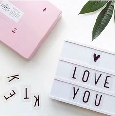 """40 Likes, 1 Comments - @mylittlewall on Instagram: """"Love you #mylittlewall #lightbox #lovely #alittlelovelycompany #kids #love #cute #decoration…"""""""