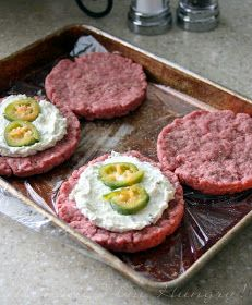 MIH Recipe Blog: Jalapeno Popper Burgers