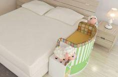 Como dividir o quarto com o bebê mantendo a sua individualidade
