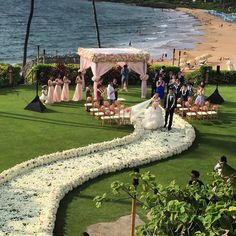 A White Wedding Dinner Under The Sunset And Stars At Four Seasons Resort Maui Photography By Karl Bradford