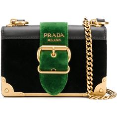 Prada strap closure shoulder bag ($2,220) ❤ liked on Polyvore featuring bags, handbags, shoulder bags, black, velvet handbags, shoulder bag handbag, prada, shoulder hand bags and shoulder handbags