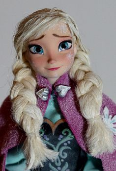 Disney Frozen OOAK Anna doll repaint Limited Edition of 1 worldwide