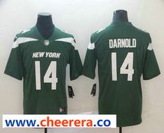 eac27ac1109 Men's New York Jets #14 Sam Darnold Green NEW 2019 Vapor Untouchable  Stitched NFL Nike