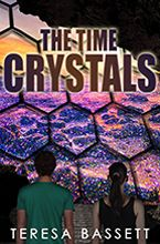 The Time Crystals by Teresa Bassett Mystery Thriller, Book Publishing, Service Design, Cover Design, My Eyes, Dreaming Of You, Crystals, Books, Fun