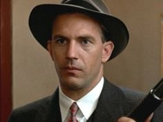 Kevin Costner as Elliot Ness in The Untouchables