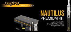 Aspire Nautilus premium kit https://www.e-rokershop.nl/Aspire/Aspire_premiumkit