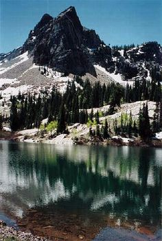 Lake Blanche & Sundial Trail Info, snow here til late June Salt Lake City, Oh The Places You'll Go, Places To Visit, Destinations, Cottonwood Canyon, Utah Hikes, Best Hikes, Glen Park, Adventure Is Out There