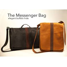 The small & large buffalo messenger bag can fit your laptop and many more things! The buffalo strap makes it very comfortable to wear! I Cool, Cool Stuff, Small Messenger Bag, Cool Outfits, Satchel, Handbags, Daily Fashion, Womens Fashion