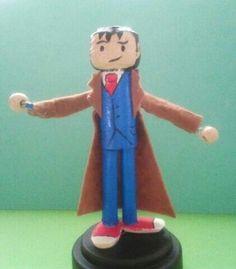 Mini fofucha con corchos doctor who(10)