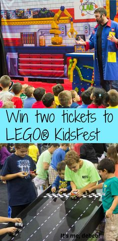 Win two tickets to  LEGO® KidsFest coming to Kansas City in May!