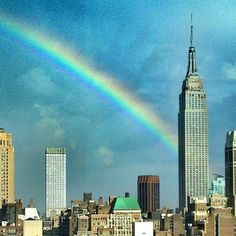 Some where over the rainbow... - by Adrienne Bailon