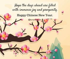 Happy Chinese New Year Quotes, Wishes, Images, Greetings & Cards - New Years İdeas Chinese New Year Greetings Quotes, Cny Greetings, Chinese New Year Wishes, Happy New Year Greetings, Chinese New Year Decorations, New Years Decorations, Quotes About New Year, Year Quotes, Chineese New Year