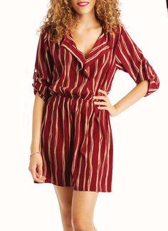 $36striped dress
