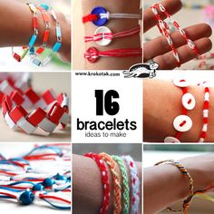 bracelets ideas to make
