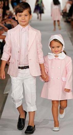 Oscar de la Renta Childrenswear Spring 2013