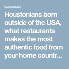 Houstonians born out