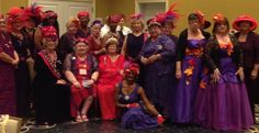 Red Hat Ladies of Essence celebrates a fun convention in Peoria IL. Oct. 21-23.