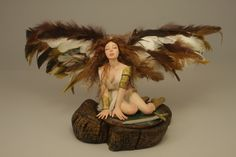 Lucrèce The Good Fighter - Ooak doll Angel by Elettra Land