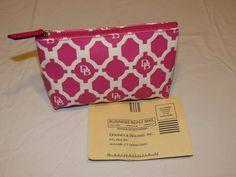Dooney & Bourke Sanibel Small Cosmetic Case bag travel NEW Hot Pink Gwp6s HP  #DooneyBourke #cosmeticbag