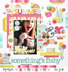 Paper Issues: Product Spotlight: Simple Stories Sunshine & Happiness @lswift1110