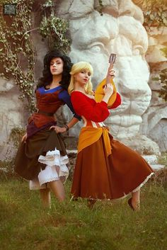 Genderbend cosplay The Road to El Dorado Tulio and Miguel