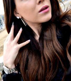 Paletti Jewelry Julie silver hook earrings @ Uino-blog
